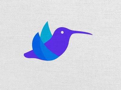 Fly Hummer Bird Symbol vector logos flat logoshape branding illustration design logo icon illustrator