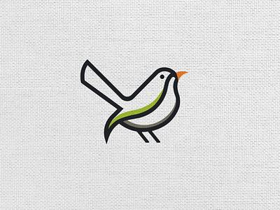 Common Tailor bird vector logos flat logoshape branding illustration design logo icon illustrator