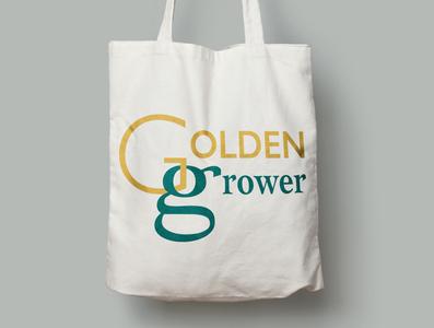 Golden Grower tote bag