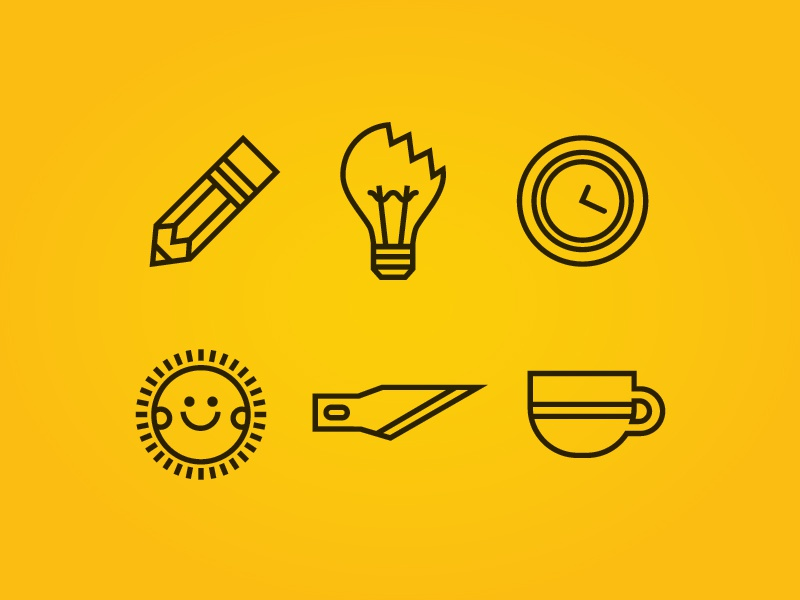 Icons icons illustrations design