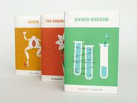 Dystopian Novel Covers