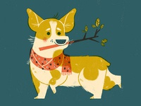 Other times I feel like a corgi