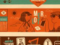 merlot + california pch