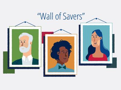 Wall of Savers
