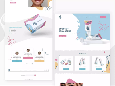 Victory Cosmetics & Beauty Products Store beauty beauty product cosmetics package design branding design brand design shopify branding minimalist web ux ui design ecommerce