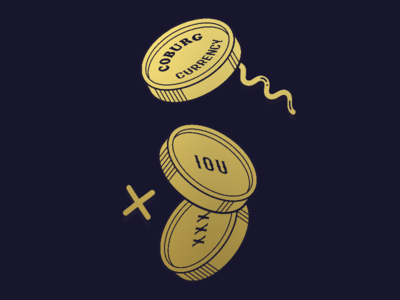 Coburg Currency logo