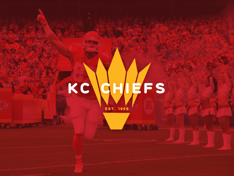 Kansas City Chiefs designer arrowhead yellow red adobe illustrator vector kcmo icon logomark chiefs design kansas city kc