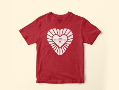 Pro-Bono Shirt Design for Camp Courageous pro bono designer adobe vector lion illustrator graphic design shirt special needs