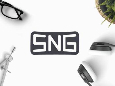 SNG monogram g n s sng cm creative market buy sell concept logo