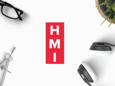 HMI modern corporate clean business monogram hmi letters letter logo