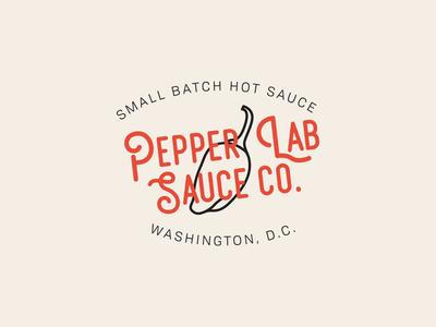 Pepper Lab Sauce Co. Branding