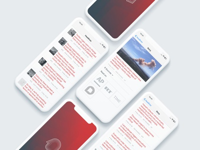 Headlines UI/UX iOS & Android Native App