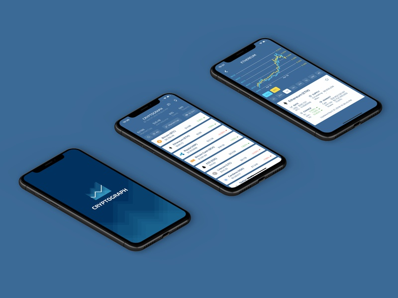 Cryptograph Flutter App by Arjan van der Vlies on Dribbble