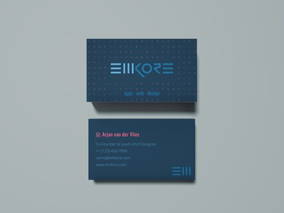 Emkore Limited Name Cards