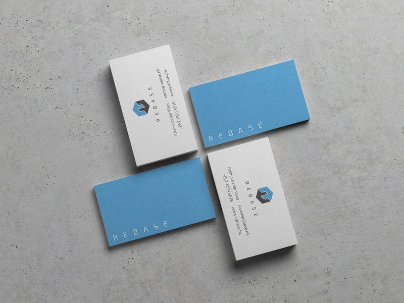 Rebase Name Cards startup branding visual design visual identity print design name card namecard graphic design fontawesome design business card design business card businesscard branding