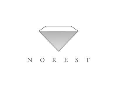 Norest luxury logo jewelery graphic designer professional logo brand logo design simple logo flat design graphic design illustrator logo