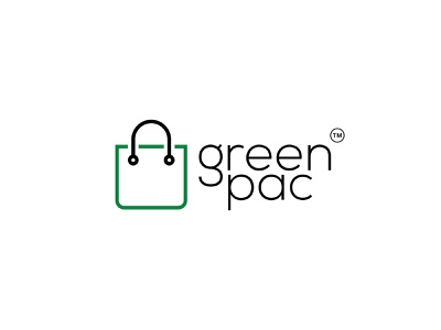 greenpac business websitelogo online store shopping app ecommerce design simple logo brand logo designer modern logo flat design professional logo graphic design illustrator logo design logo