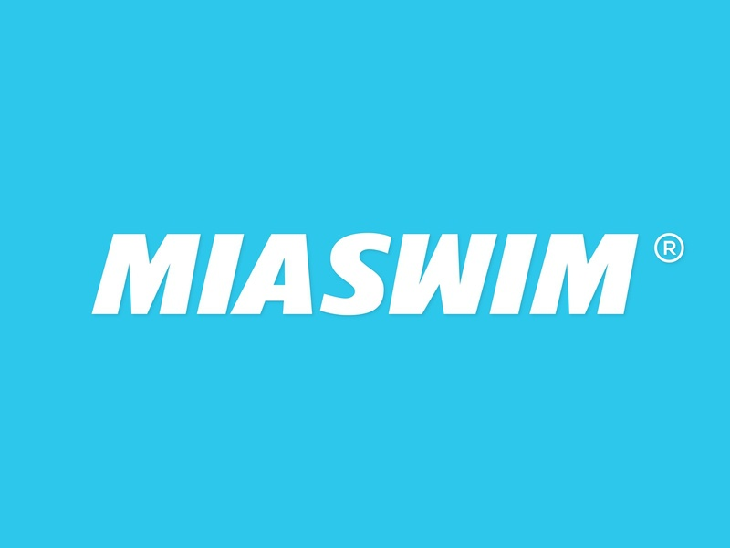 MIASWIM font logo text simple logo design logo designer professional logo logo design logo illustrator