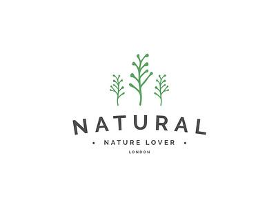Natural green nature logo minimal hand drawn brand design logo designer simple logo professional logo graphic design illustrator logo design logo