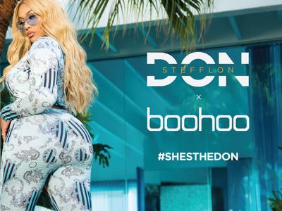 Boohoo x Stefflon Don
