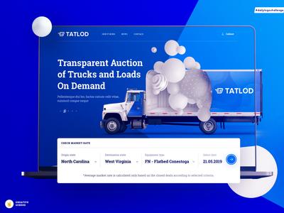 One page   Tatlod logistics company