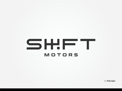 """SHIFT motors"" — Car Service repair shop repair transport transmission identitydesign identity logotype white space black bw odessa services motorsport engine cars pitstop service car"