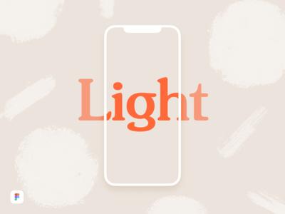iPhone X Light Mockup - Figma Download