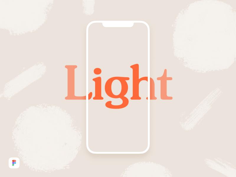 iPhone X Light Mockup - Figma Download download free minimal light clay gummy simple mockup figma download iphone x