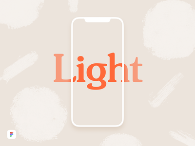 iPhone X Light Mockup - Figma Download download free minimal light clay gummy simple mockup figma download iphone x