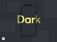 iPhone X Dark Mockup - Figma Download