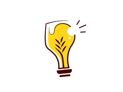 Project Beers N' Ideas type icon minimal marketing illustration typography branding vector design mark logo beer
