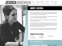 Jessica Sorensen, Author Website