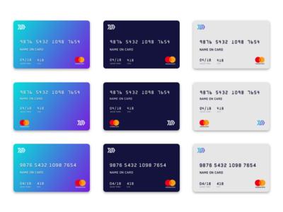 Virtual Card Mocks