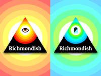 Richmondish Stickers