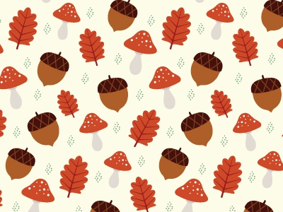 Dribbble autumn treasures