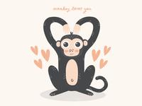 Monkey Loves You