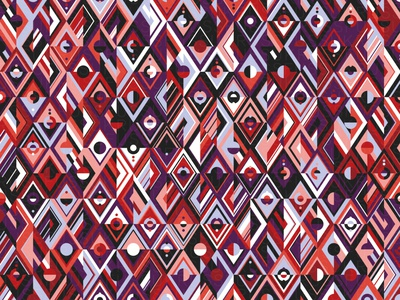 Tesseract repeating illustration geometry geometric vector digital art pattern design pattern generative estampa