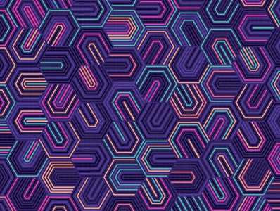 Lumi repeating illustration geometry geometric vector digital art pattern design pattern generative estampa