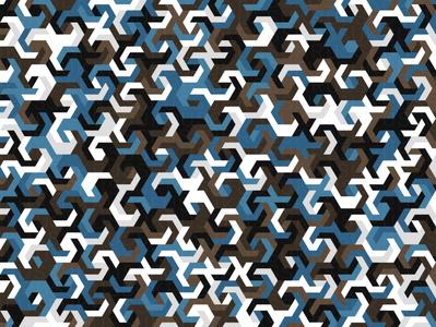 Rogue hexagon illustration geometry geometric vector digital art pattern design pattern generative estampa