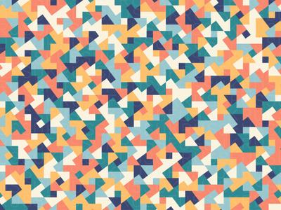 Mira repeating illustration geometry geometric vector digital art pattern design pattern generative estampa