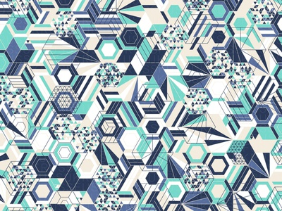 Core204 repeating illustration geometry geometric vector digital art pattern design pattern generative estampa
