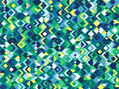 Caldera repeating illustration geometry geometric vector digital art pattern design pattern generative estampa
