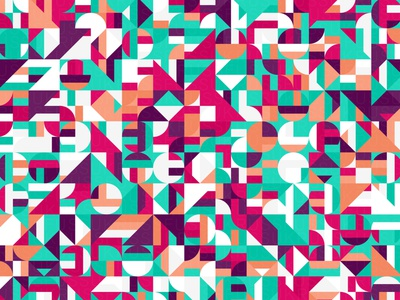 Sanguine repeating illustration geometry geometric vector digital art pattern design pattern generative estampa