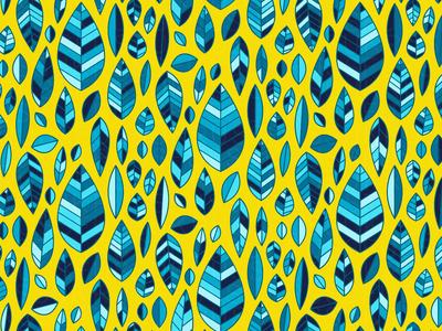 'BlueLeaf' Pattern