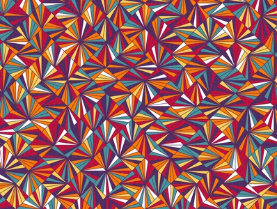 Radiant repeating illustration vector geometry geometric digital art pattern design pattern generative estampa