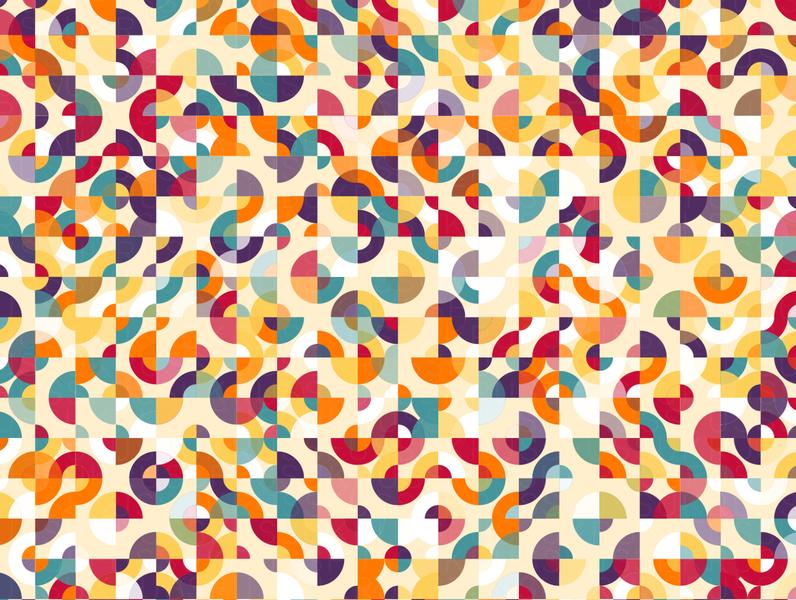 Lujan repeating illustration vector geometry geometric digital art pattern design pattern generative estampa
