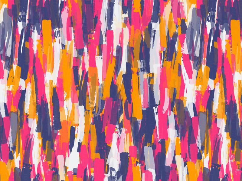 Cascade brushstrokes repeating illustration vector digital art pattern design pattern generative estampa