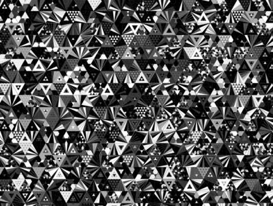 CosmicDarkness repeating illustration vector geometry geometric digital art pattern design pattern generative estampa