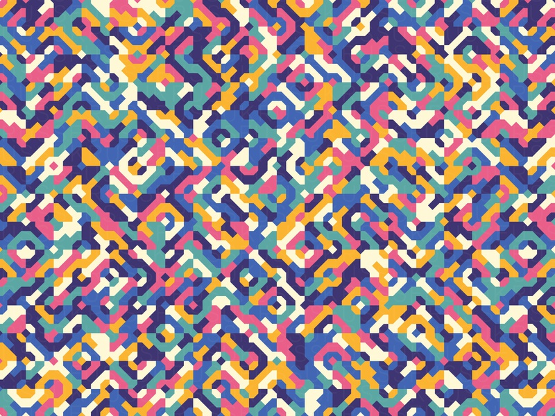 15deAgosto asunción illustration geometry geometric vector digital art pattern design pattern generative estampa