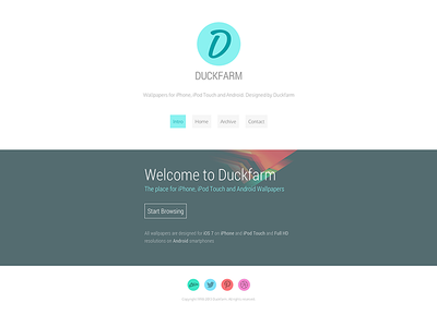 New Responsive Duckfarm